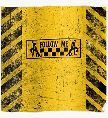 follow me dancer - used look Poster