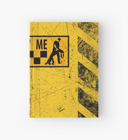 follow me dancer - used look Hardcover Journal