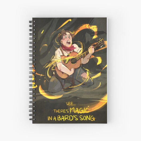 Orpheus Is Magic Spiral Notebook