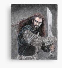 Thorin Oakenshield Canvas Print