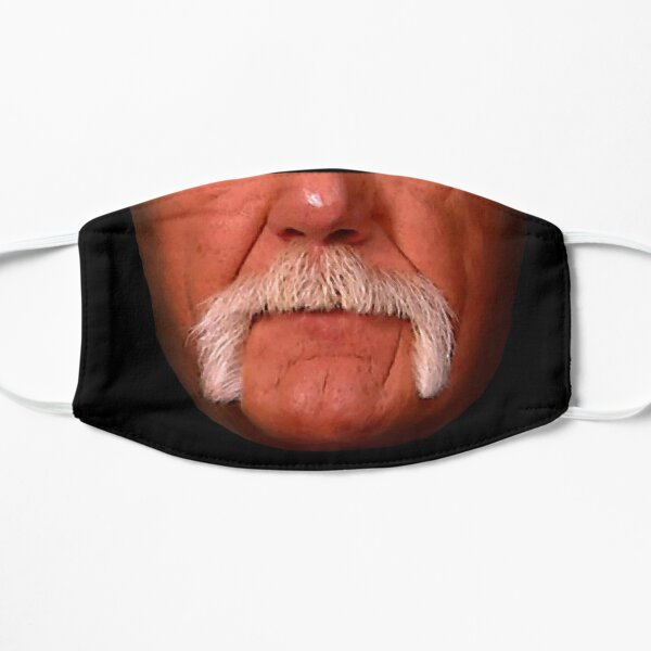Mustache Mania Brother Flat Mask