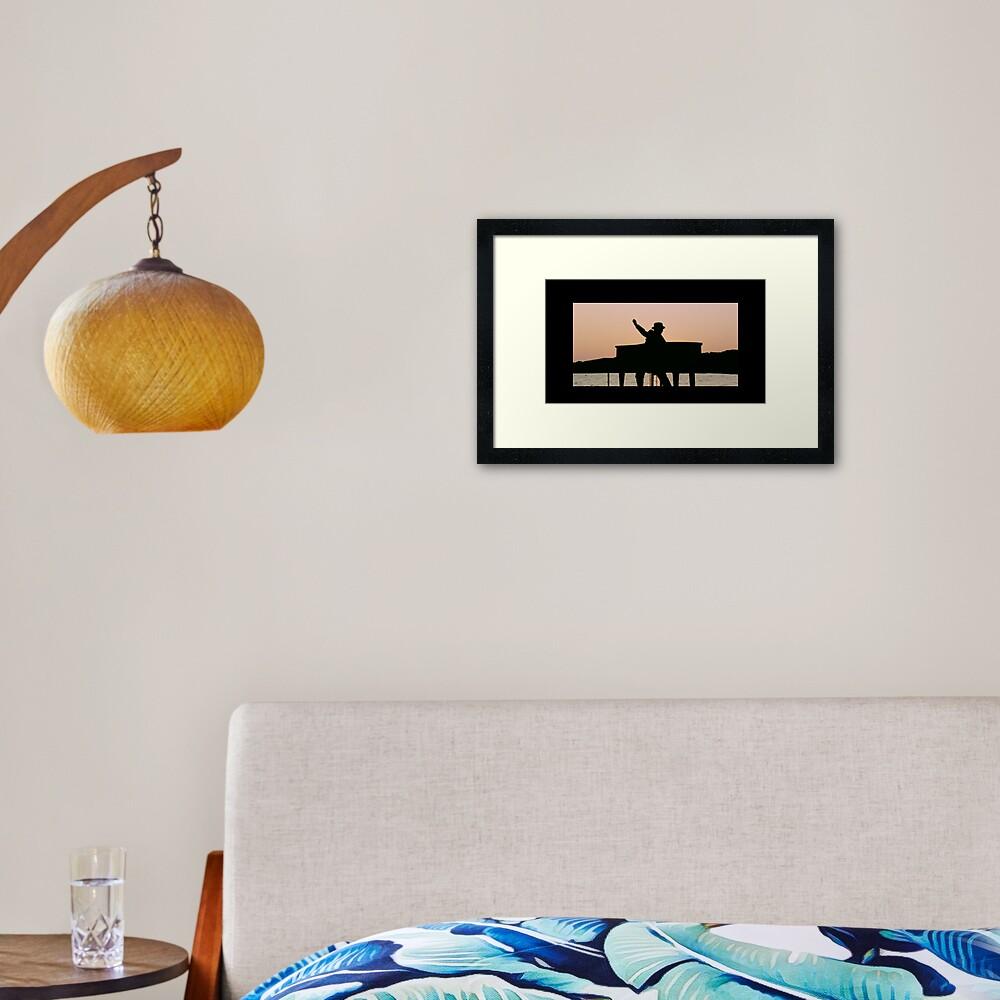 """Still Standing"" Framed Art Print"