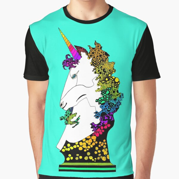 Uni-on-Teal Graphic T-Shirt
