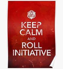 D&D Keep Calm Poster
