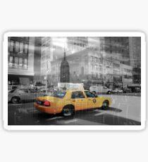 New York Collage 2 Sticker