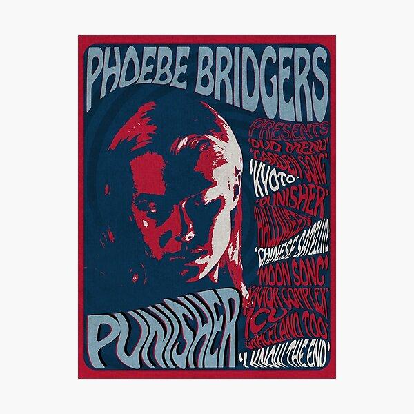Phoebe Bridgers Psychedelic Punisher  Photographic Print