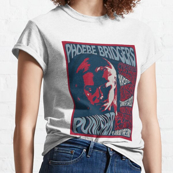 Phoebe Bridgers Psychedelic Punisher  Classic T-Shirt