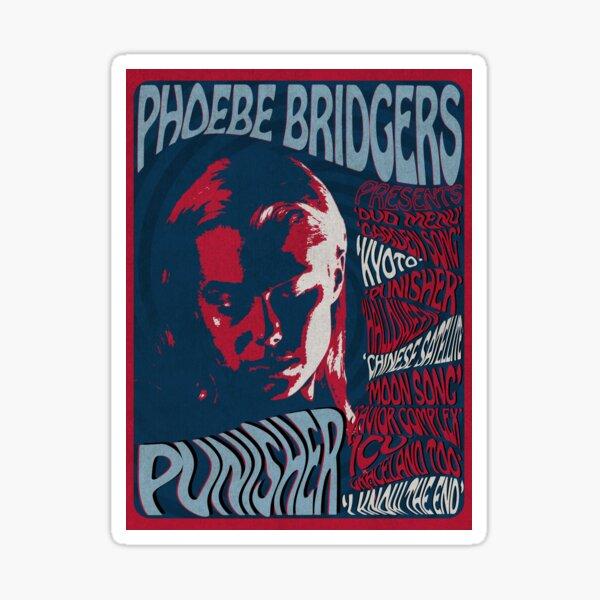 Phoebe Bridgers Psychedelic Punisher  Sticker