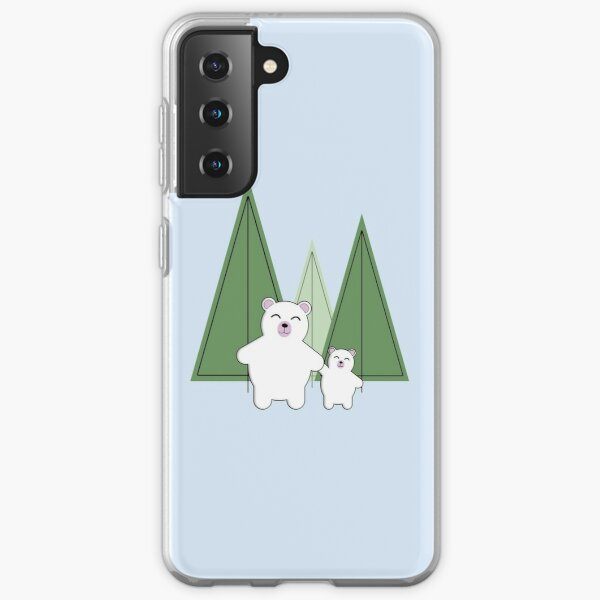 Gift Xmas Bear Winter Phone Case Samsung Galaxy Case Baby It/'s Cold Outside Christmas Phone Case Polar Bear Phone Case Iphone Case