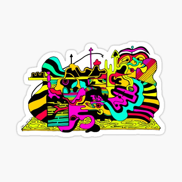 This is the Hubbub Sticker