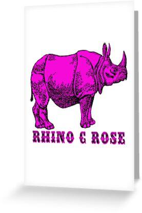 Rhinoceros, Rhino C Rose  by antart ant