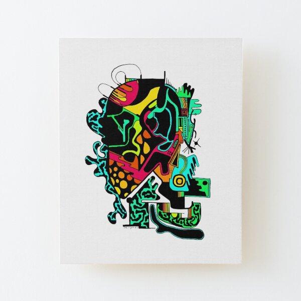 Electrohead Wood Mounted Print