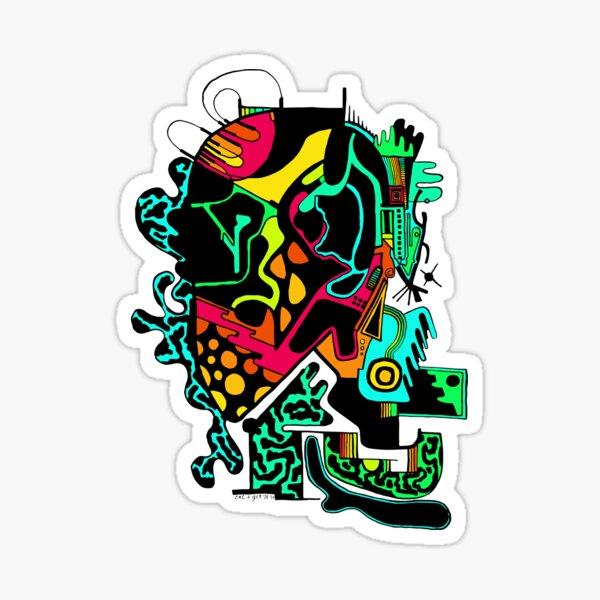 Electrohead Sticker