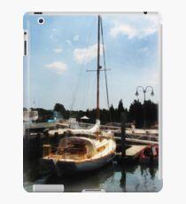 Docked Cabin Cruiser iPad Case/Skin