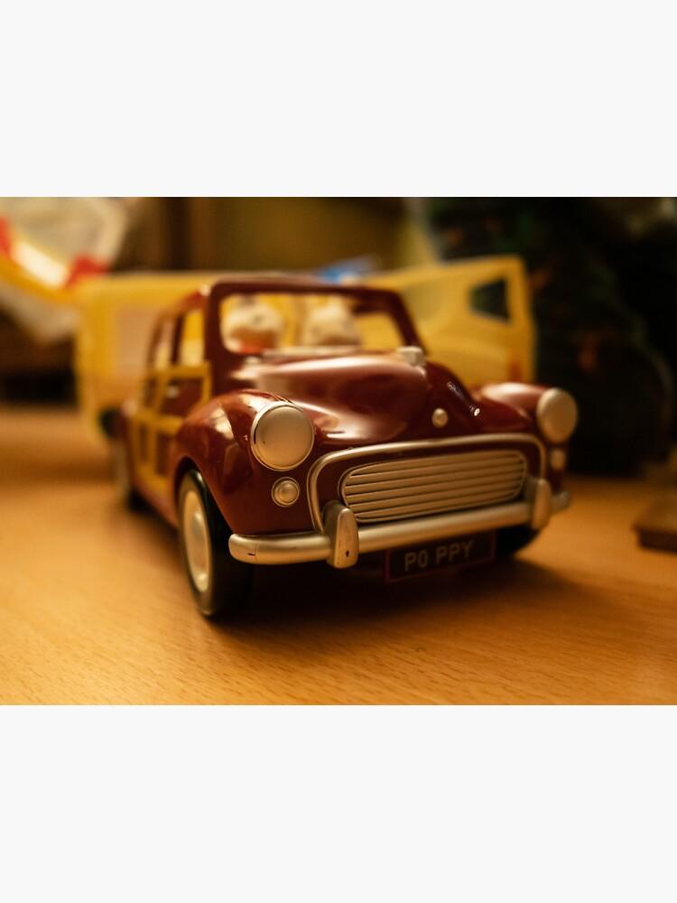 Vintage Morris toy car by santoshputhran