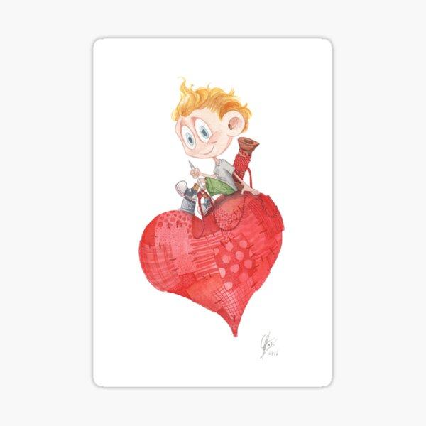 Little Saint Valentine Pegatina