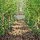 'Birch Path' by Alan Hogan