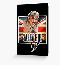 Best of British - Tally Ho! Greeting Card