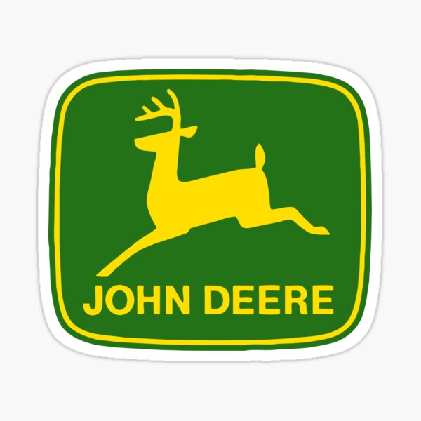 John Deere Sticker