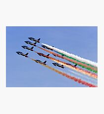 Frecce Tricolori Smoke Photographic Print