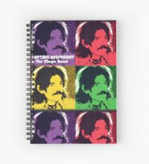 Captain Beefheart T-Shirt Spiral Notebook