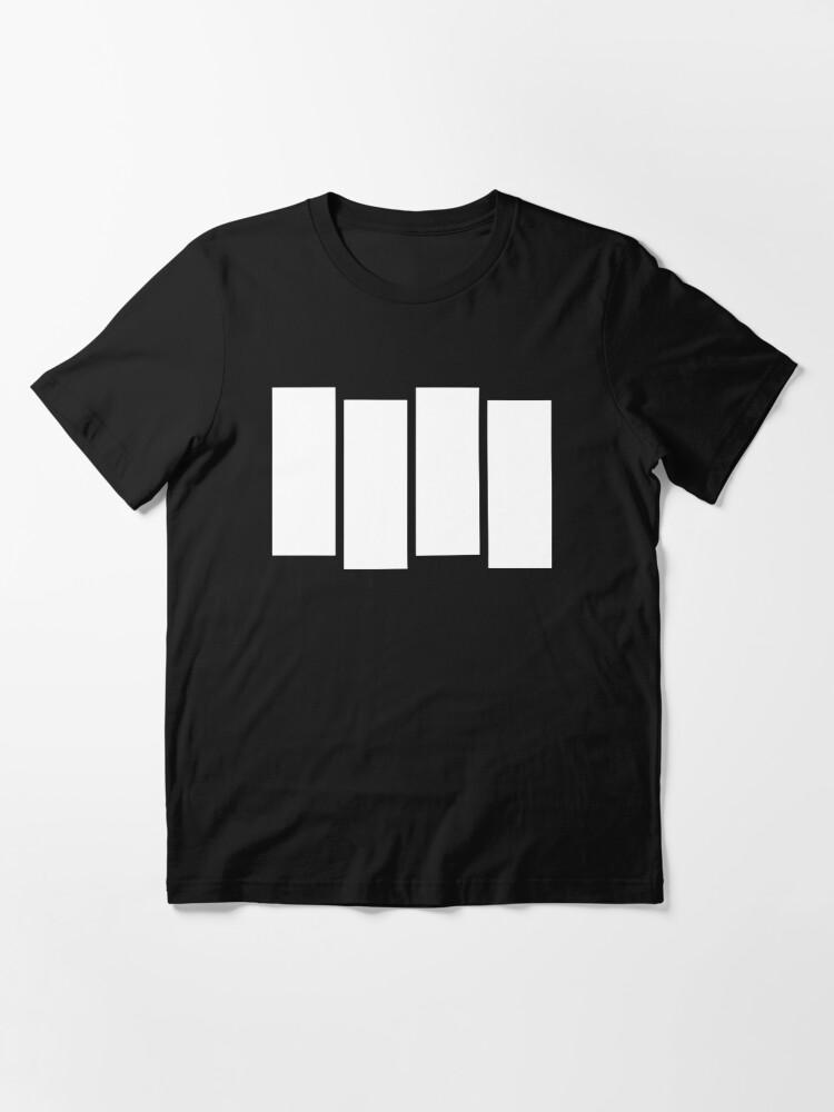 Alternate view of Punk Rock Music Flag Essential T-Shirt