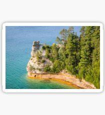 Castle Rock - Pictured Rocks National Lakeshore Sticker