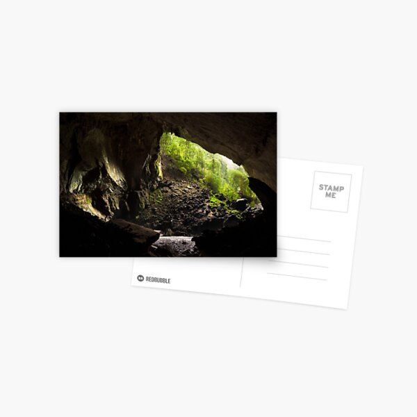 Deer cave gunung mulu national park Postcard