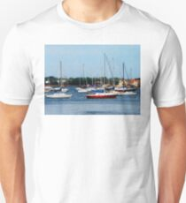 Group of Sailboats Newport RI T-Shirt