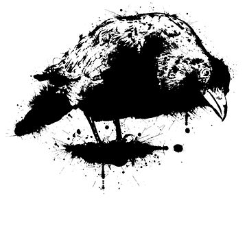 ink crow by Rob2in
