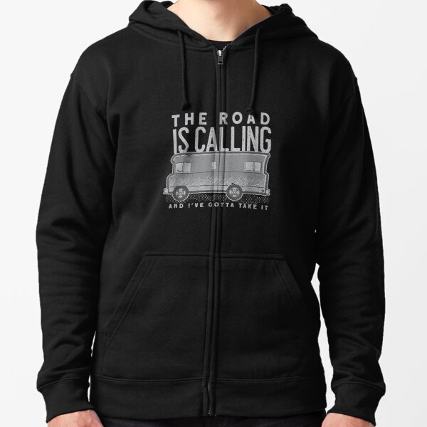 Campervan Hoodie Mens I/'d Rather Be In My Campervan Black Hoody Dad Grandpa Husband Fathers Day Present Gift Novelty