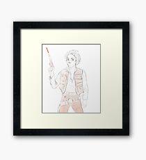 Han Winchester - Sam Solo Framed Print