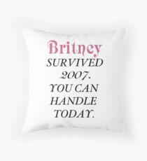 Britney überlebte, Britney. Dekokissen
