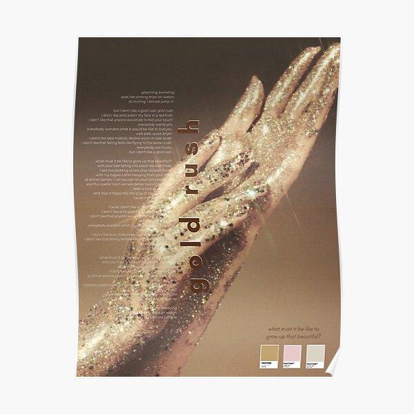 Póster de la fiebre del oro de Taylor Swift - Evermore Album Póster