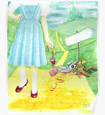 Dorothy returning to Kansas with some souvenirs... Poster