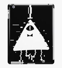 Bill Cipher static white iPad Case/Skin