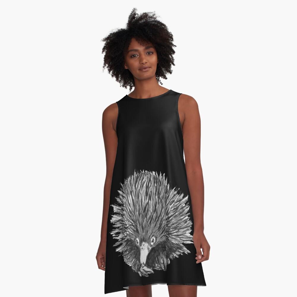 Spike the Echidna A-Line Dress