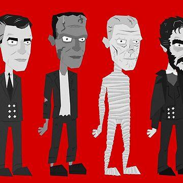Many Faces Of Karloff by MrBradd