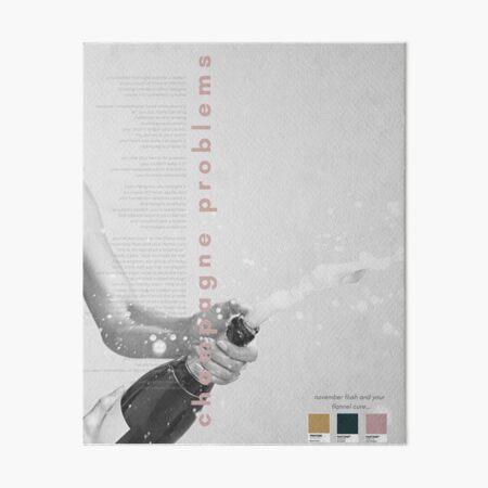 Champagner Probleme Taylor Swift Poster - Evermore Album Galeriedruck