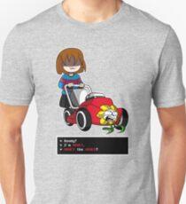 Undertale Frisk and Flowey Unisex T-Shirt