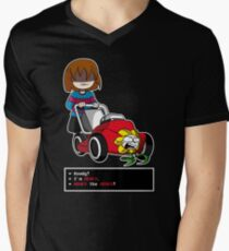 Undertale Frisk and Flowey T-Shirt
