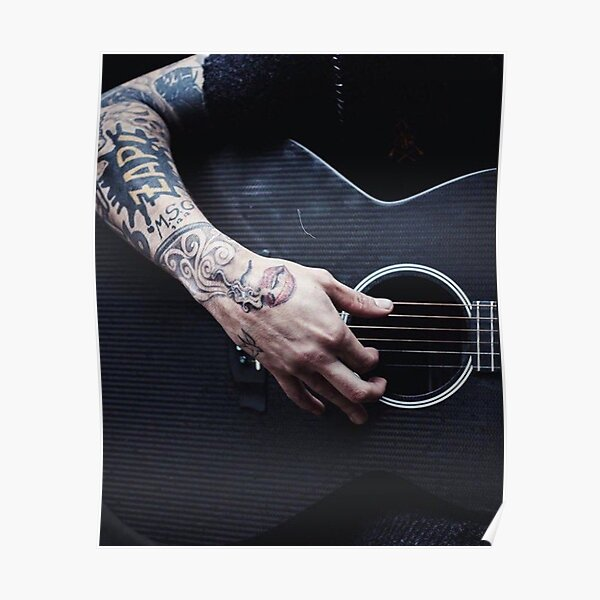Guitarra Zayn Malik Póster