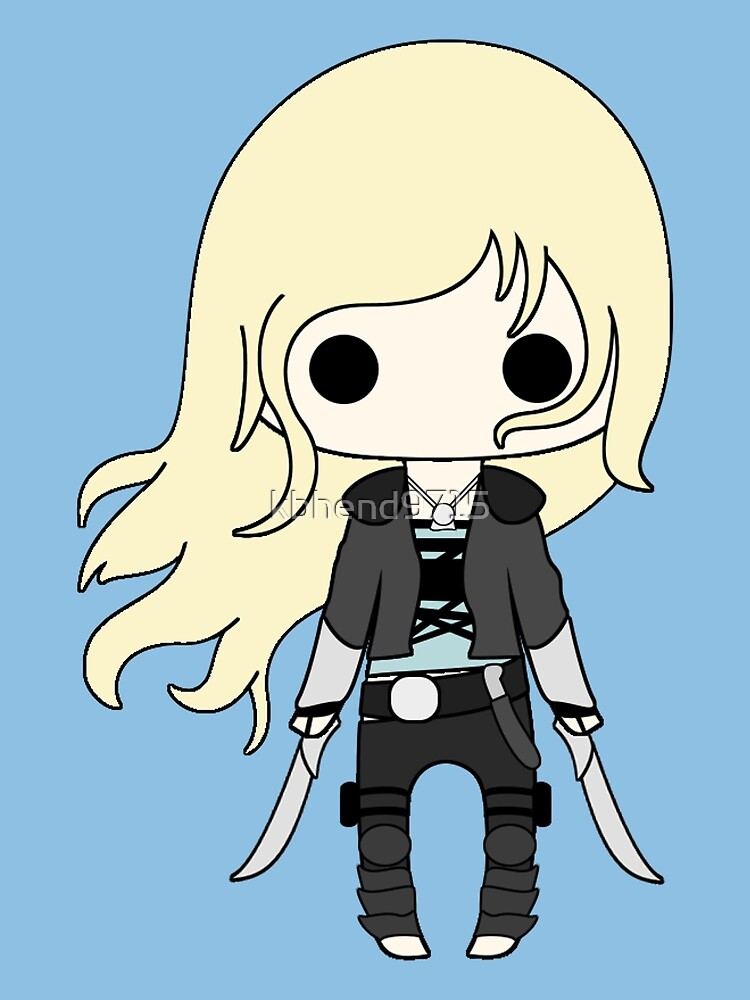 Quot Throne Of Glass Chibi Quot By Kbhend9715 Redbubble