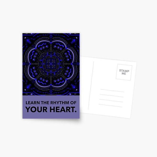 The Rhythm of your Heart Postcard