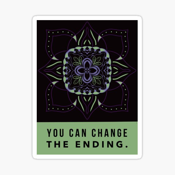 Change the Ending Sticker