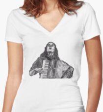 Weird Al Women's Fitted V-Neck T-Shirt
