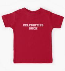 Celebrities Suck Kids Tee