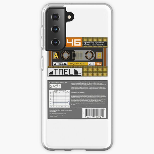 TAEL MCT 46 type 4 cassette (front and back) Samsung Galaxy Soft Case