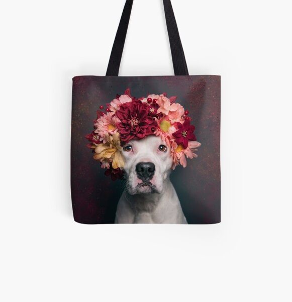 Flower Power Lizzy All Over Print Tote Bag