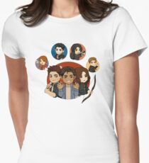 mccall pack s3 Women's Fitted T-Shirt